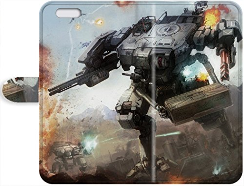 1112300PA375351103I5S Lovers Gifts Durable Leather Case For The iPhone 5/5s- Eco-friendly Retail Packaging(MechWarrior Combat Robot) Star phone protective shell's Shop