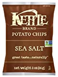 Kettle Chips, Sea Salt, 2-Ounce Bags (Pack of 24)