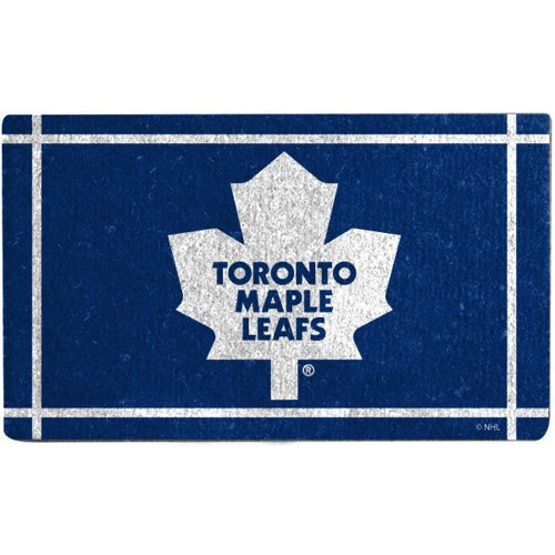 Sale alerts for Evergreen Enterprises Toronto Maple Leafs Welcome Door Mat - Covvet