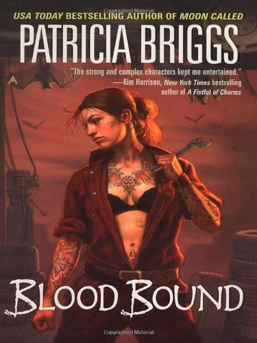 Cover of Blood Bound (Mercy Thompson, Book 2)