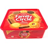 Crawfords Family Circle Biscuits 700 g