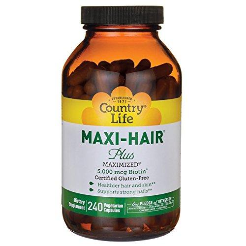 country-life-maxi-hair-plus-240-veg-caps