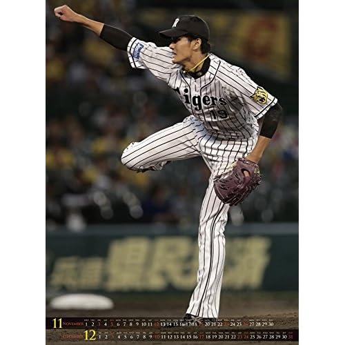 藤浪晋太郎(阪神タイガース) 2017年 カレンダー 壁掛け B2