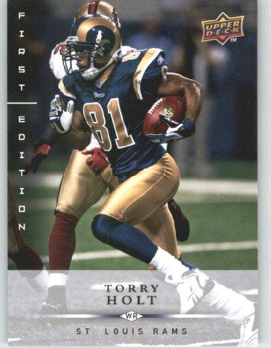 Torry Holt St. Louis Rams 2008 Upper Deck First Edition Football Card # 134 NFL...