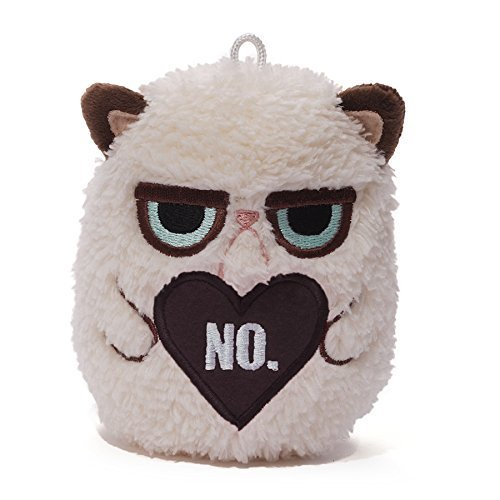 "Gund Grumpy Cat Mini Plush, 4"" by Gund"