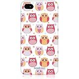 Head Case Designs Stunned Little Owl Kawaii Design Back Case Cover for Apple iPhone 4/4S