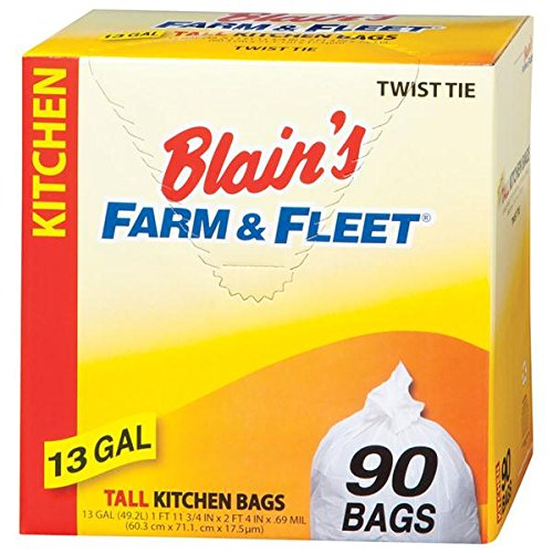 blains-farm-fleet-13-gallon-tall-kitchen-bags-with-twist-ties-90-count