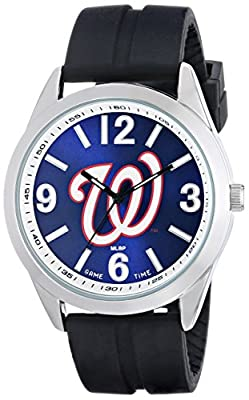 "Game Time Men's MLB-VAR-WAS ""Varsity"" Watch - Washington Nationals"