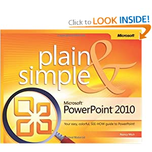 Microsoft Power Point Trial on Microsoft Powerpoint 2010 Plain   Simple  Learn The Simplest Ways To