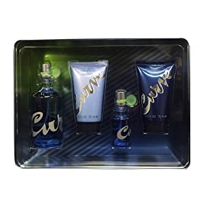Liz Claiborne Curve Women Giftset (3.4 Ounce Eau De Toilette Spray, 0.5 Ounce Eau De Toilette Spray, Body Lotion, Bath and Shower Gel)