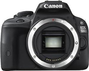 Canon EOS 100D Reflex numérique 18 Mpix Noir