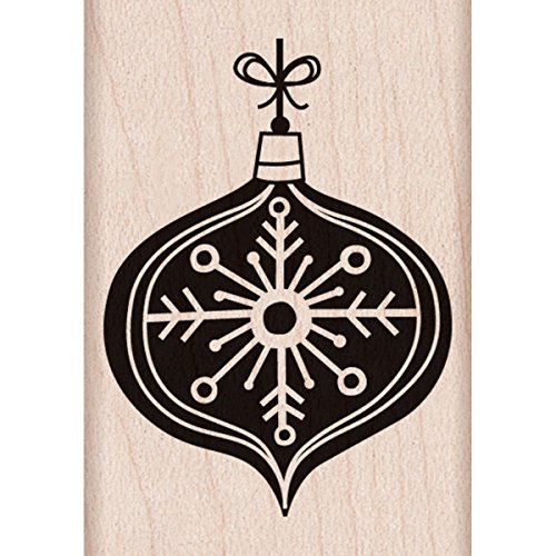 "Hero Arts Chalkboard Ornament Mounted Rubber Stamp, 2.25"" by 2.25"""
