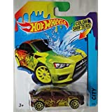 HOT WHEELS COLOR SHIFTERS CITY 2008 MITSUBISHI LANCER EVOLUTION 8/48