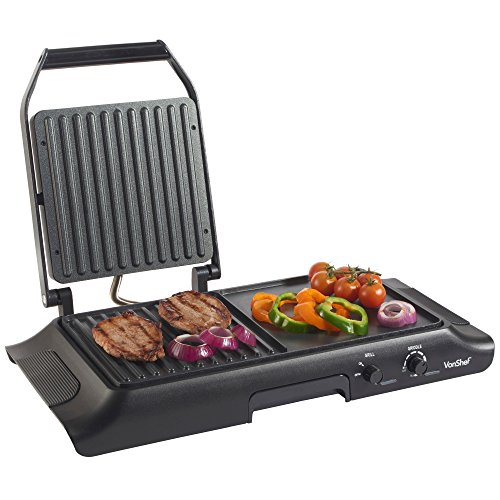 vonshef-electric-grill-griddle-sandwich-panini-press-and-griddle-plate-free-2-year-warranty