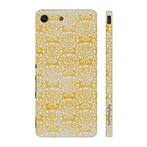 Enthopia Designer Hardshell Case THE YELLOW INDIAN ART Back Cover for Sony Xperia M5