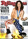 Rolling Stone March 18 2010 Shaun White on Cover, Billy Corgan, Rolling Stones/Lost Exile on Main Street Sessions, Jack White/White Stripes, M. Ward and Zooey Deschanel, Danger Mouse and Shins James Mercer, Gorillaz, Tim Burton Alice in Wonderland