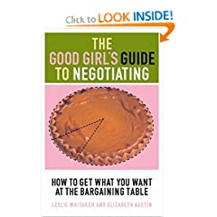 good girl's guide to negotiating
