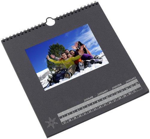 Your design foto bastelkalender schwarz 23 x 24 cm for Fotocollage basteln