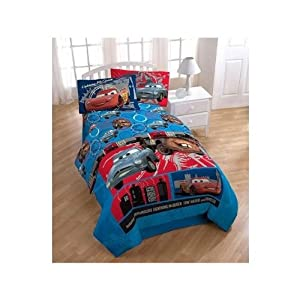 pixar disney cars 2 movie comforter twin full size
