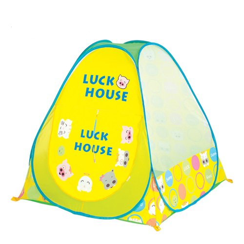 Zuwit Kid'S Lucky House Hideaway Pop Up Play Tent Ball Pit Fold-Up front-746334