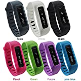 Niutop Newest Adjustable Replacement Wristband with a Secure Clasp and a New Watchband-style Closure for Fitbit One Band Only - Wear You Fitbit One in Style