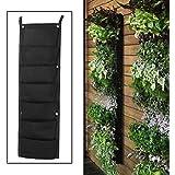 7 Pocket Hanging Bag Garden Planter Indoor/Outdoor Herb Pot Wall Decoration
