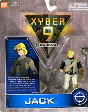 Jack Action Figure - Xyber 9: New Dawn
