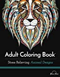 img - for Adult Coloring Book: Stress Relieving Animal Designs book / textbook / text book