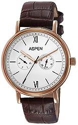 Aspen Analog White Dial Mens Watch - AM0076