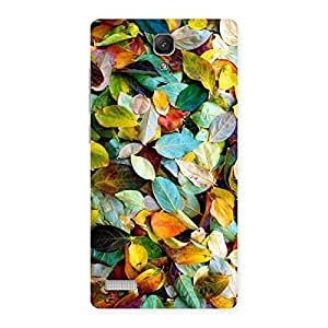 Cute Colorfull Leafs Back Case Cover for Redmi Note