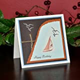 Handmade Sail Away Birthday Card