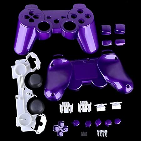 PS3 Polished Purple Replacement Controller Shell