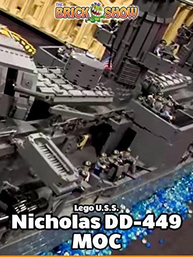 LEGO U.S.S. Nicholas DD-449 MOC by BrickMania