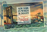 New York in Words  &  Images: A Collection of 20 Vintage Postcards  &  Literary Quotes