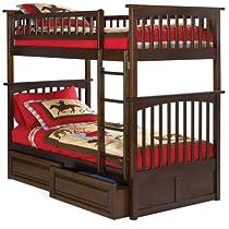 Hot Sale Atlantic Furniture AB55124 Columbia Bunk Kids Bed