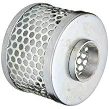 PT Coupling Carbon Steel  Round Hole Pump Suction Strainer, 2""