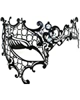 Luxury Mask Women's Signature Phantom Of The Opera Venetian Laser Cut Mask