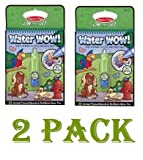 Melissa & Doug Water Wow Coloring Book - Animals (2 Pack)