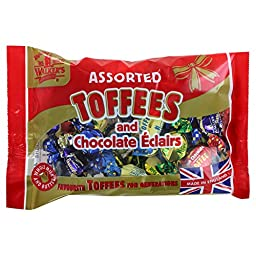 Walkers Assorted Royal Toffees and Eclairs - 14.1oz (399g)
