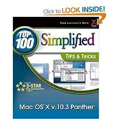 Mac OS X v. 10.3 Panther: Top 100 Simplified Tips & Tricks