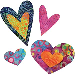 Go! Fabric Cutting Die-Queen Of Hearts -Four Sizes