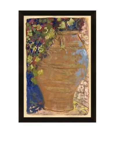 Clay Jar With Bougenvillia, Marrekech Sketchbook
