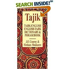 Tajik-English/English-Tajik Dictionary and Phrasebook