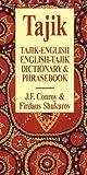 Tajik-English/English-Tajik Dictionary and Phrasebook (Hippocrene Dictionary & Phrasebook)