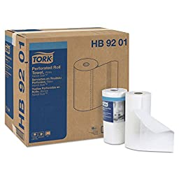 Tork HB9201 Handi-Size Perforated Paper Roll Towel, 2-Ply, 11\