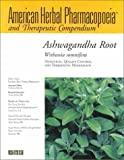 Ashwagandha Root Withania Somnifera: Analytical Quality Control and Therapeutic Monograph