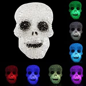 Domire Color Changing LED Night Light Skull from Domire