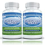 PURIFLUSH ULTRA (2 Bottles) - The All-Natural, Advanced Complete Colon Cleansing Formula - Best Intestinal Cleanse / Body Detox Supplement ~ PuriFlush Ultra