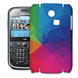 Rainbow Geometric Shapes Phone Hard Shell Case for Samsung Galaxy S3 S4 S5 Mini Ace Nexus Note & more - Samsung Ch@t 335