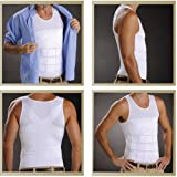 Milex Men's Back Posture Corrective Body Support & Compression T-shirt